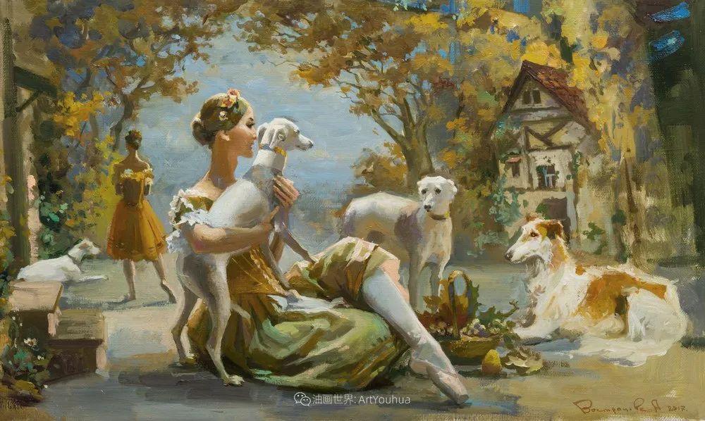 她油画里的芭蕾,又仙又美!插图25