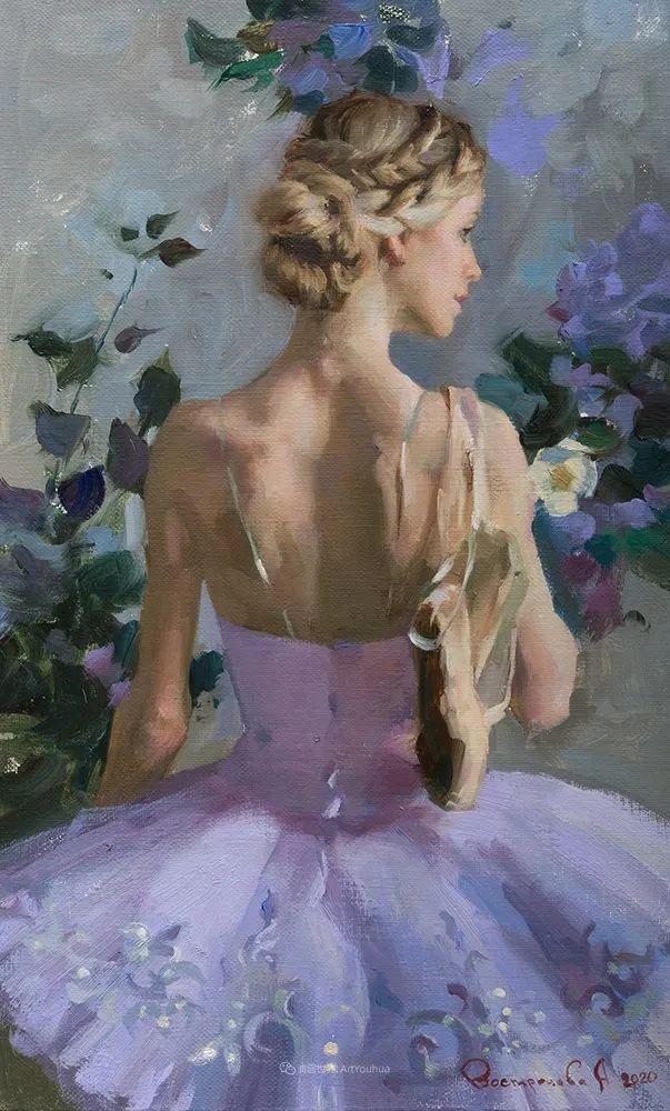她油画里的芭蕾,又仙又美!插图27