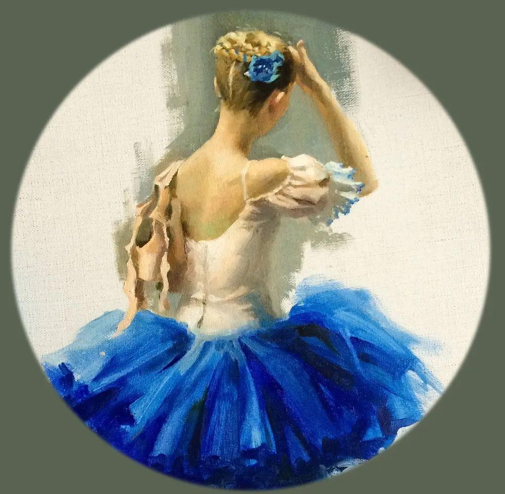 她油画里的芭蕾,又仙又美!插图33