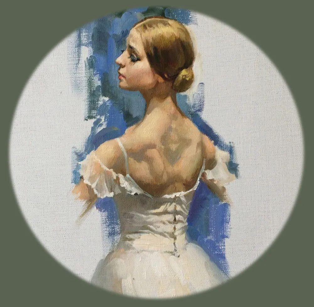 她油画里的芭蕾,又仙又美!插图34