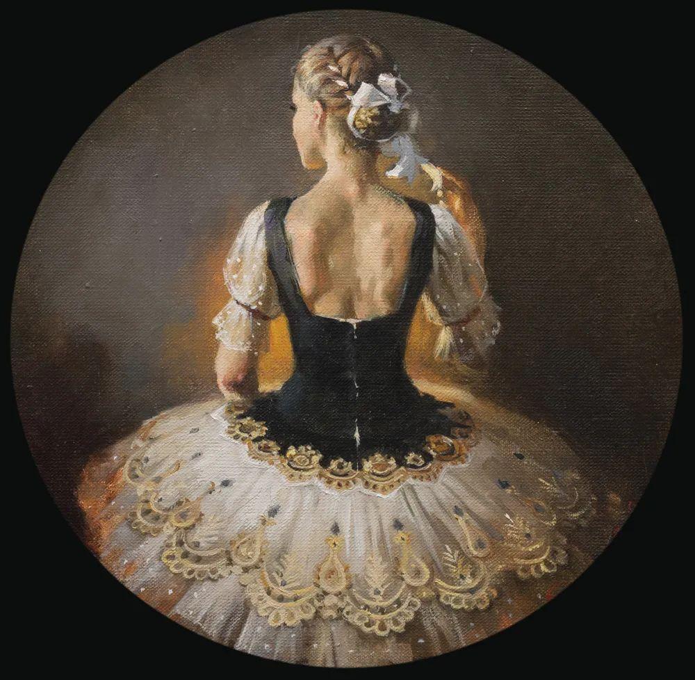 她油画里的芭蕾,又仙又美!插图35