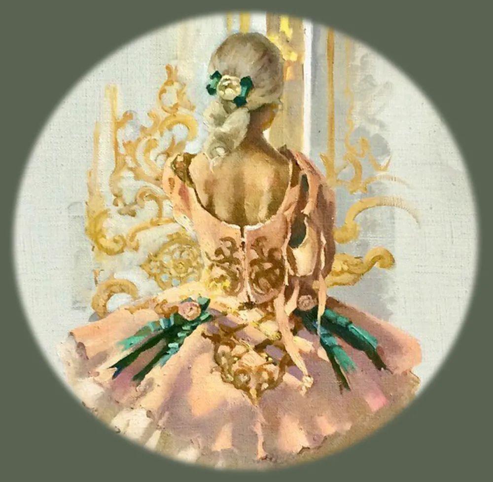 她油画里的芭蕾,又仙又美!插图36