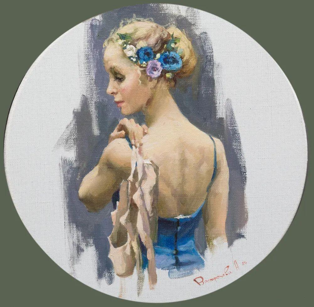 她油画里的芭蕾,又仙又美!插图37