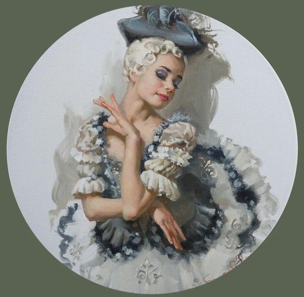 她油画里的芭蕾,又仙又美!插图38