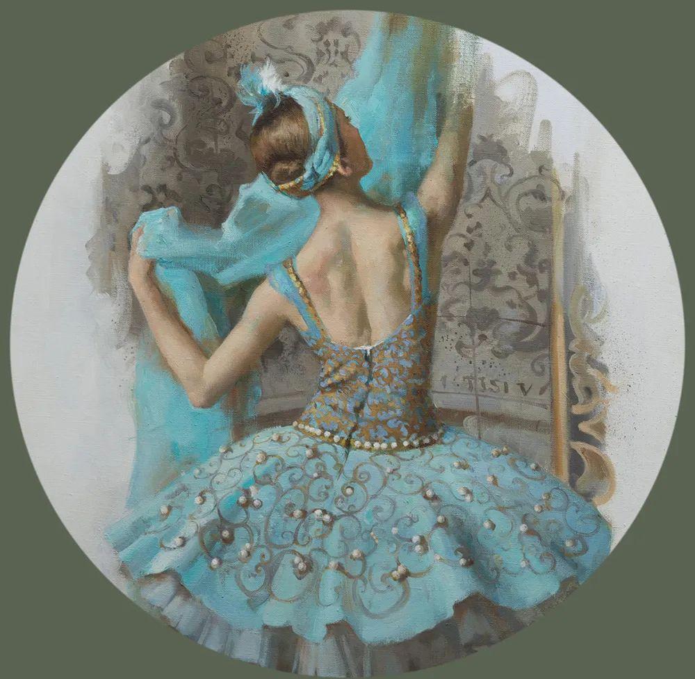 她油画里的芭蕾,又仙又美!插图39