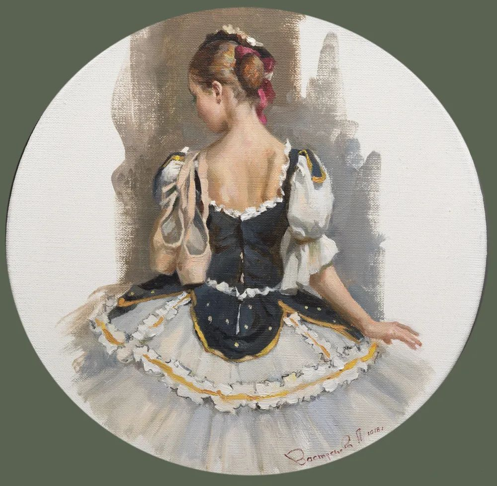 她油画里的芭蕾,又仙又美!插图41