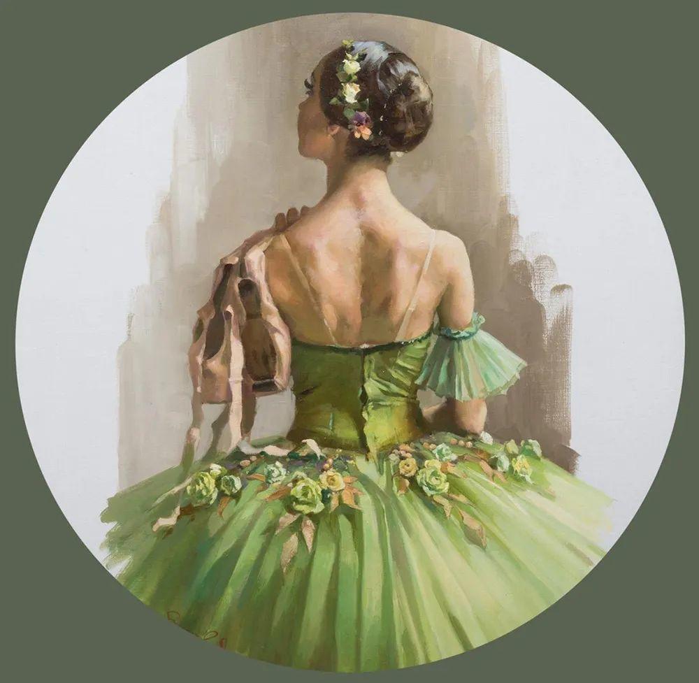 她油画里的芭蕾,又仙又美!插图42