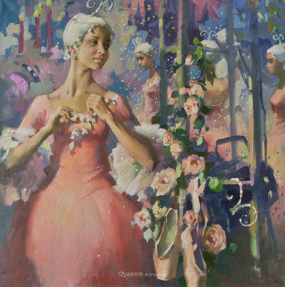 她油画里的芭蕾,又仙又美!插图43