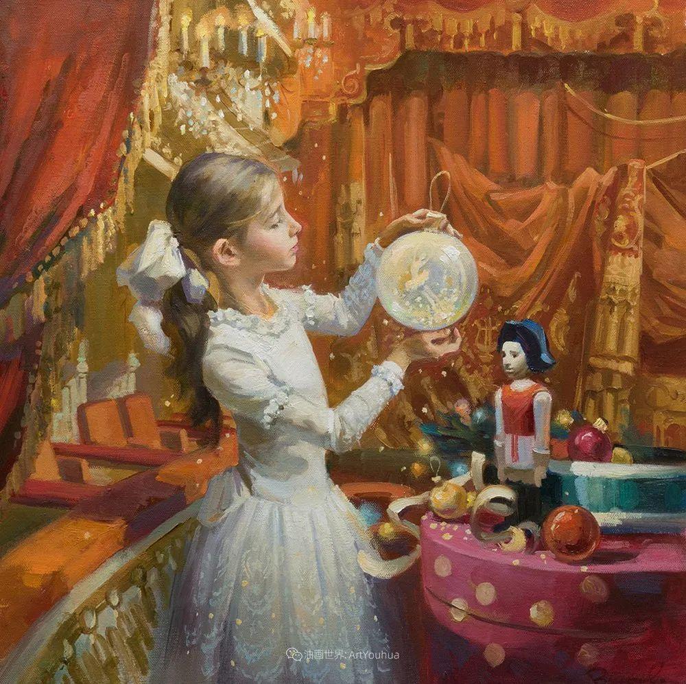 她油画里的芭蕾,又仙又美!插图45