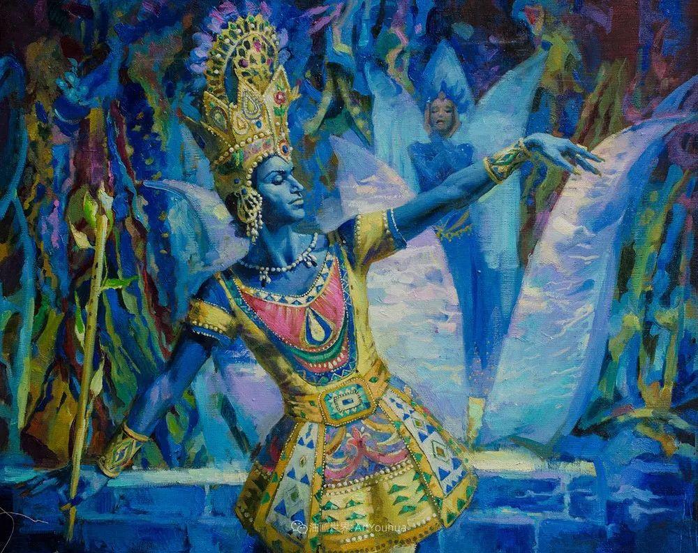 她油画里的芭蕾,又仙又美!插图46