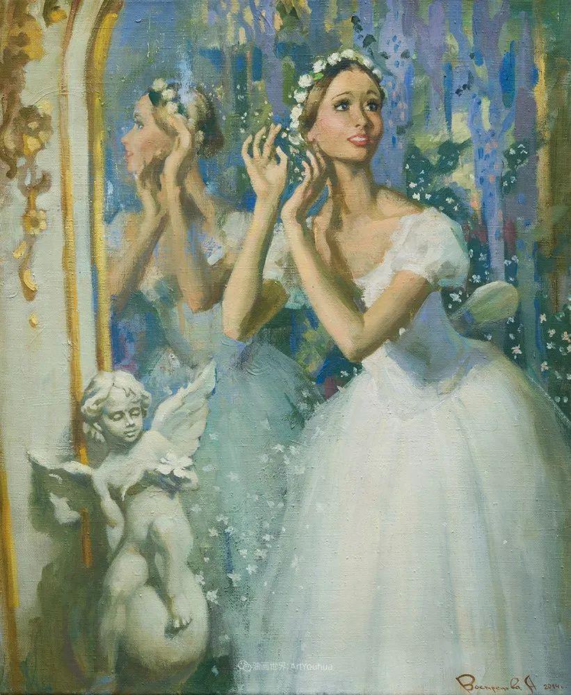她油画里的芭蕾,又仙又美!插图48