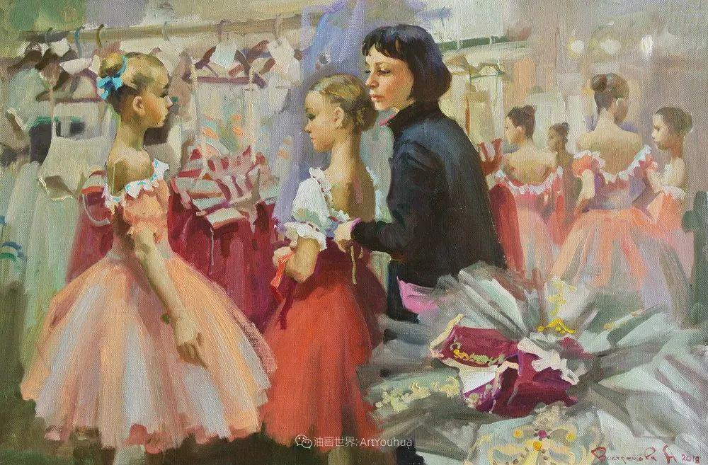 她油画里的芭蕾,又仙又美!插图50