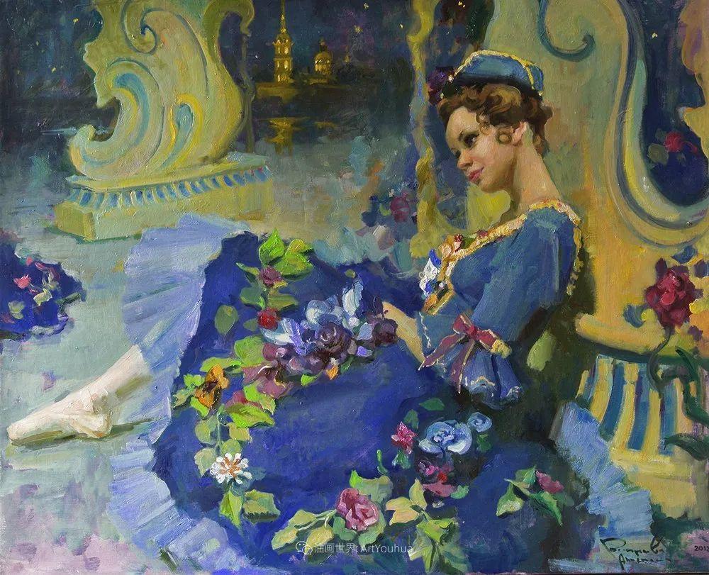 她油画里的芭蕾,又仙又美!插图51
