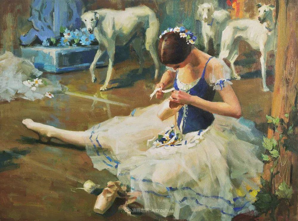 她油画里的芭蕾,又仙又美!插图52