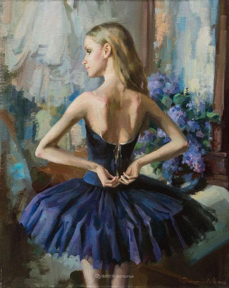 她油画里的芭蕾,又仙又美!插图54