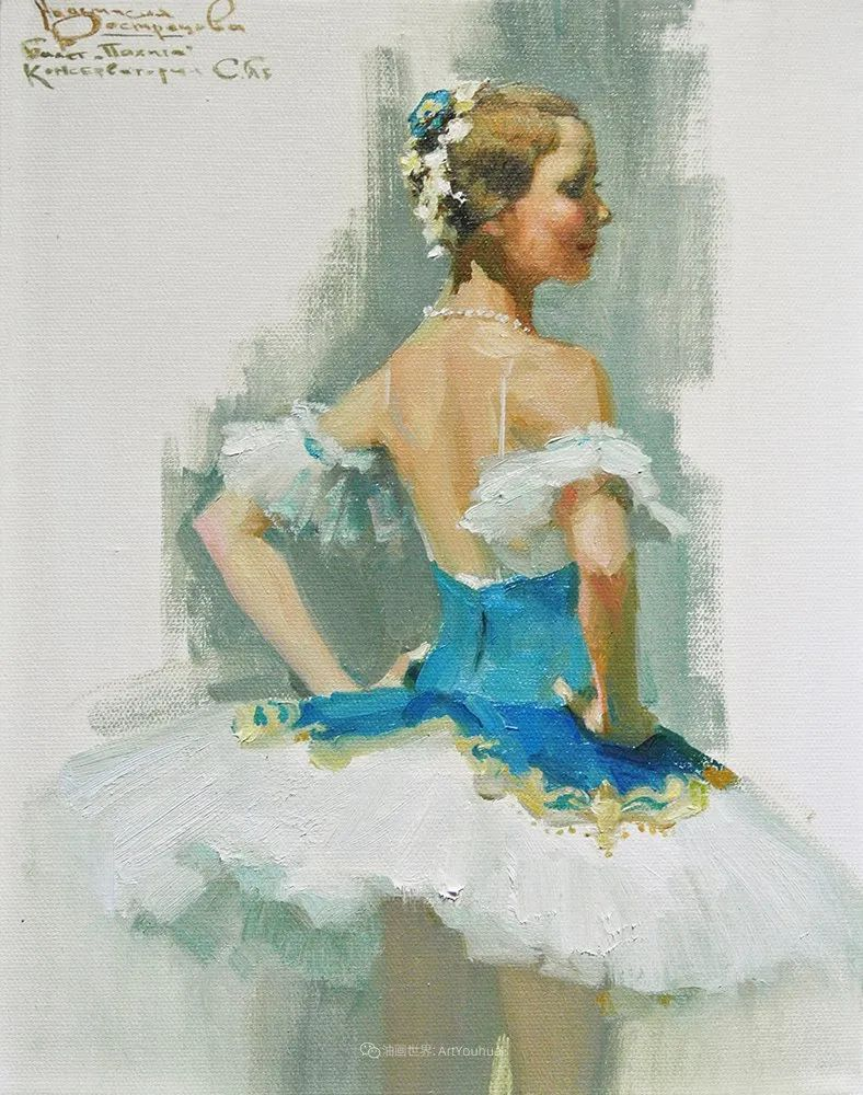 她油画里的芭蕾,又仙又美!插图56