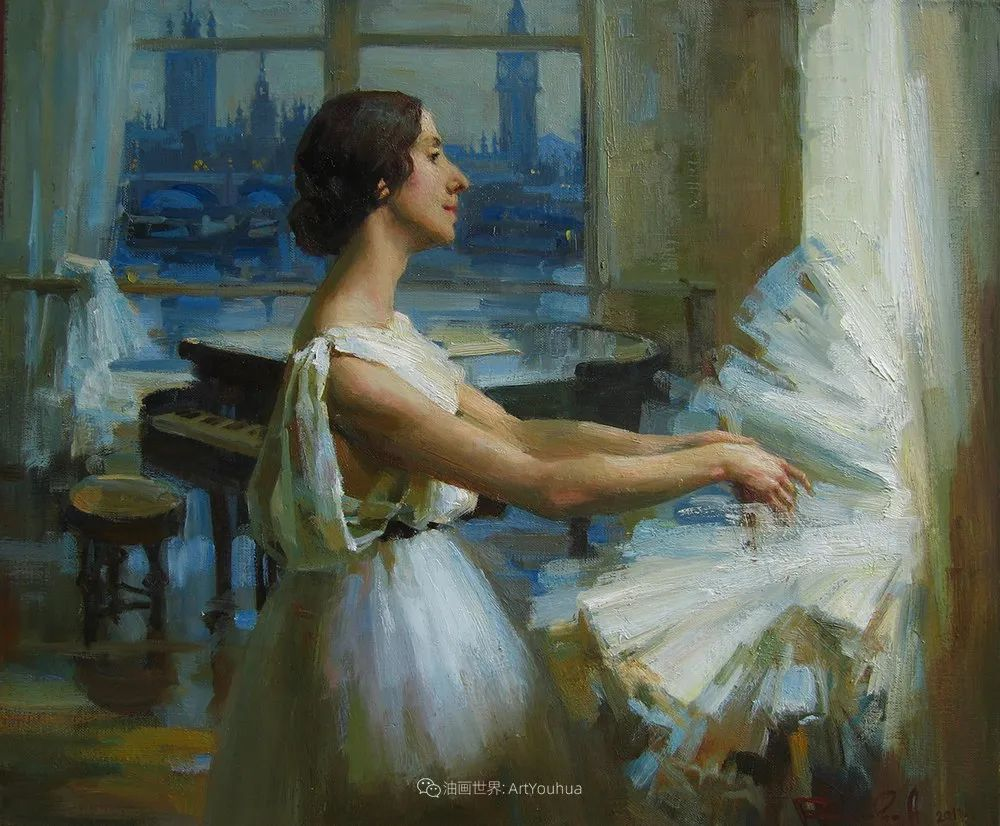 她油画里的芭蕾,又仙又美!插图57