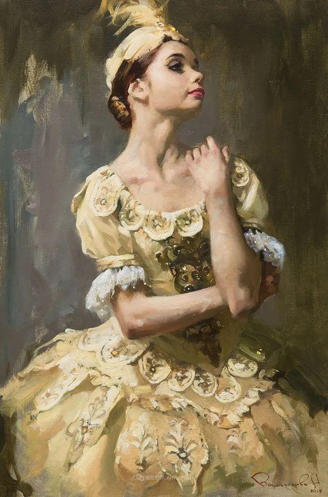 她油画里的芭蕾,又仙又美!插图64