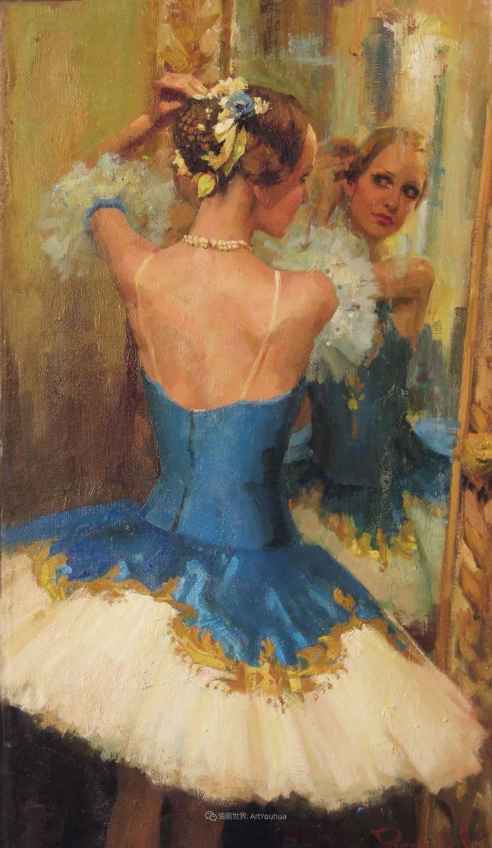 她油画里的芭蕾,又仙又美!插图69
