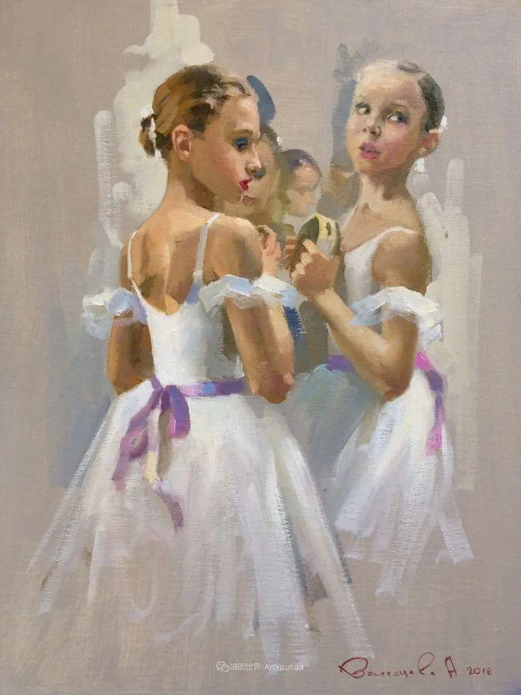 她油画里的芭蕾,又仙又美!插图73