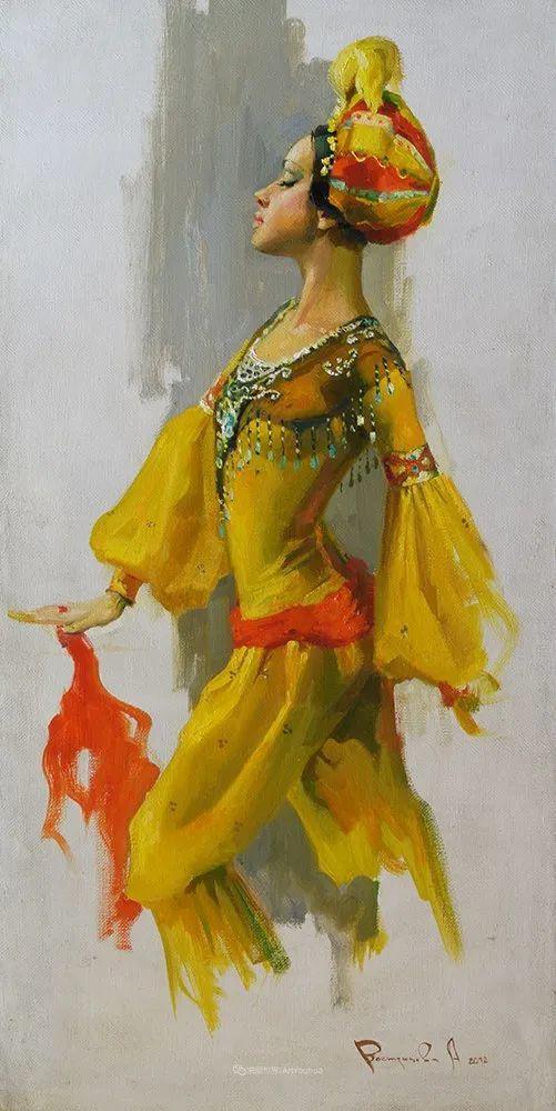 她油画里的芭蕾,又仙又美!插图75