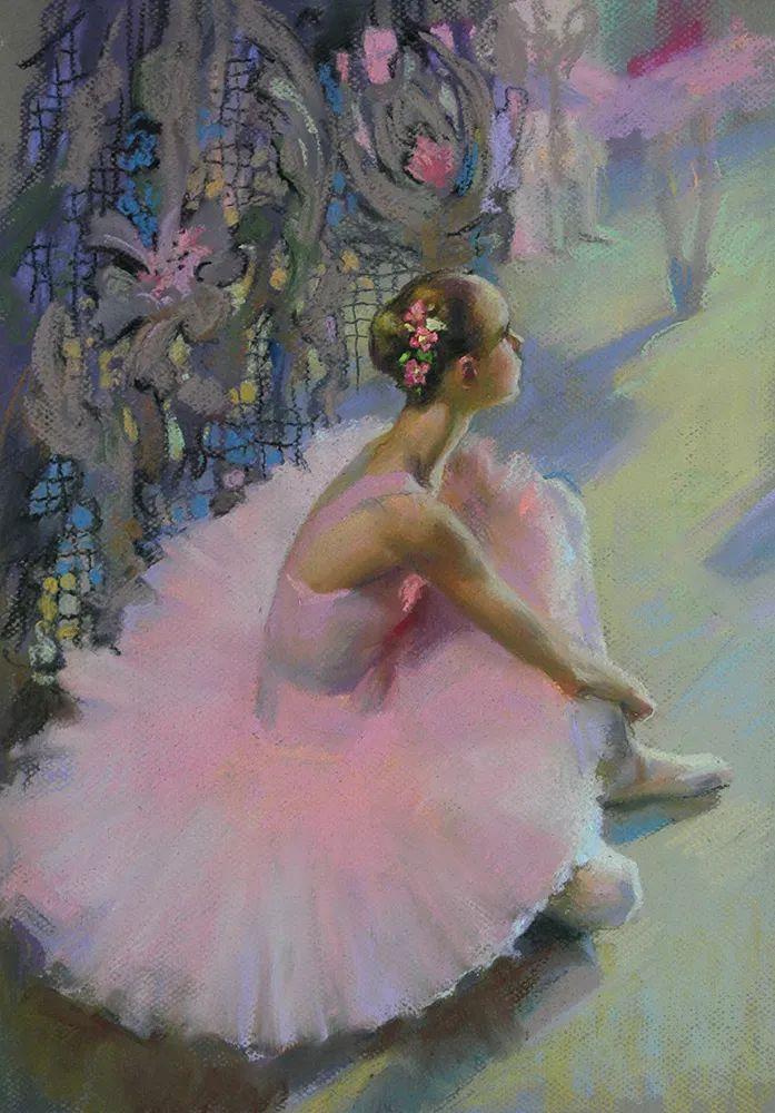 她的色粉芭蕾,舞姿律动,身姿瘦削!插图7