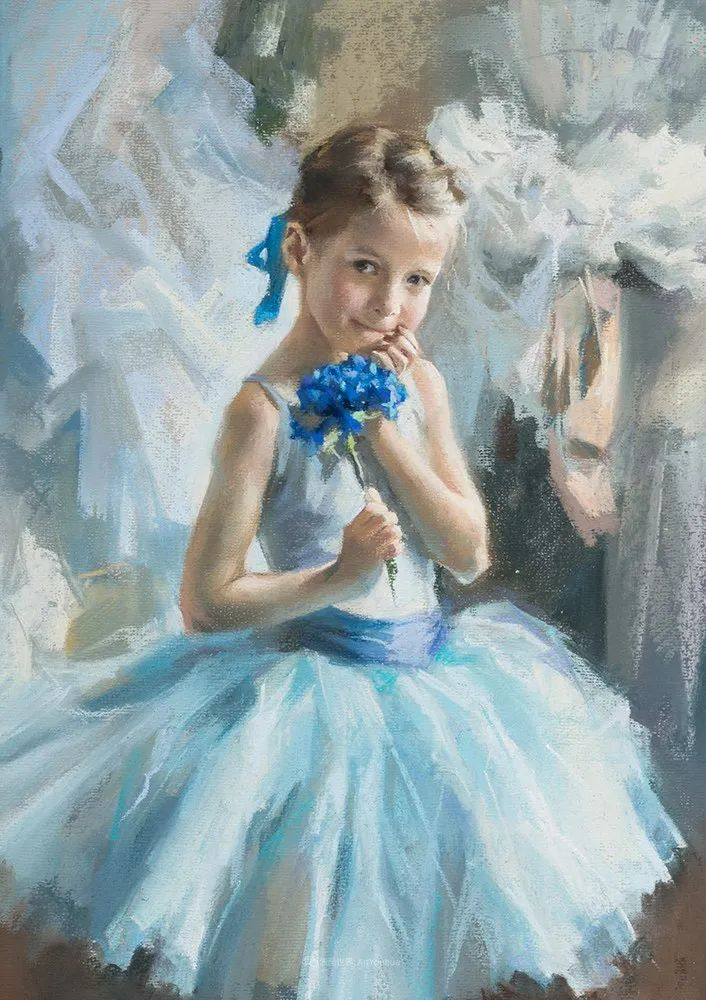 她的色粉芭蕾,舞姿律动,身姿瘦削!插图17