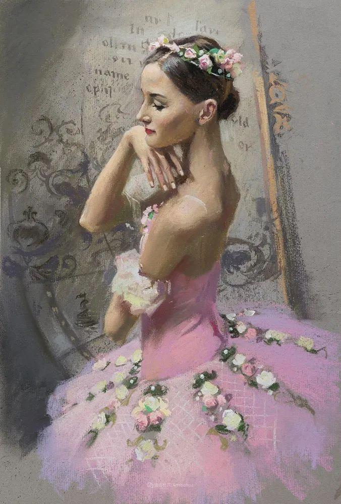 她的色粉芭蕾,舞姿律动,身姿瘦削!插图21