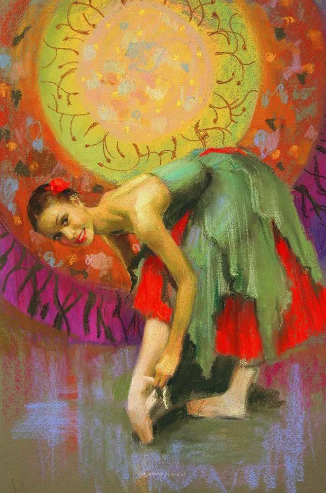 她的色粉芭蕾,舞姿律动,身姿瘦削!插图23