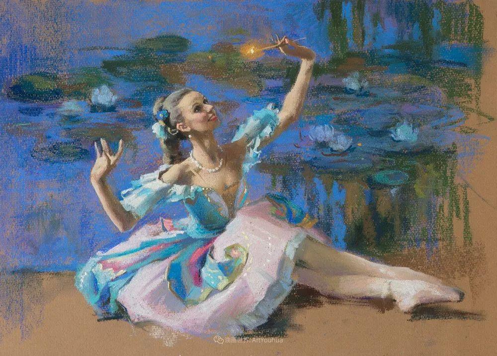 她的色粉芭蕾,舞姿律动,身姿瘦削!插图25