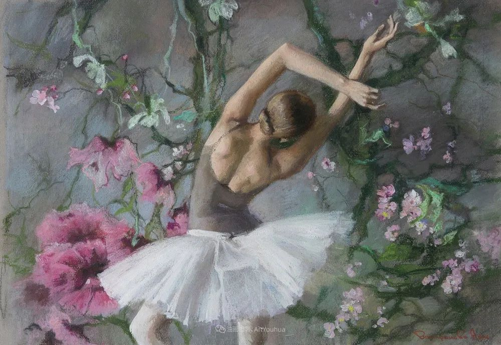她的色粉芭蕾,舞姿律动,身姿瘦削!插图27