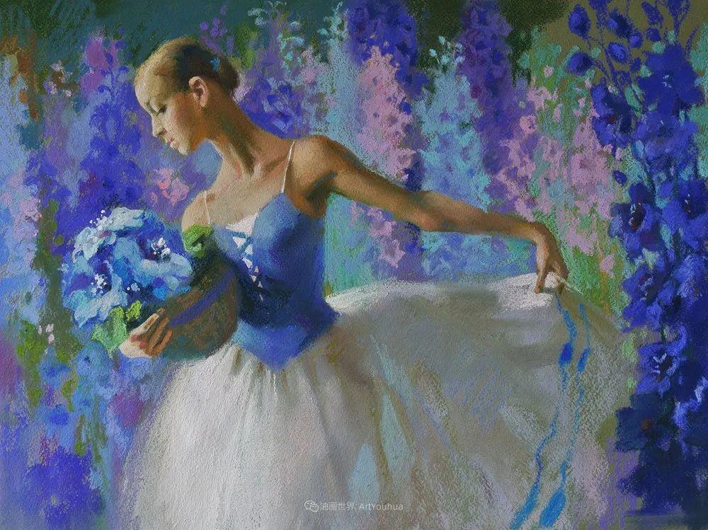 她的色粉芭蕾,舞姿律动,身姿瘦削!插图29