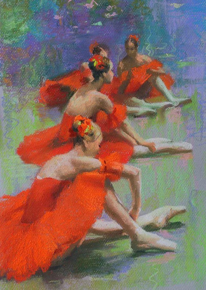 她的色粉芭蕾,舞姿律动,身姿瘦削!插图31