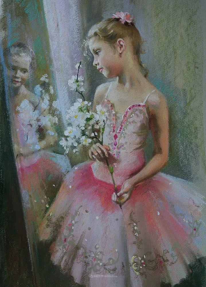 她的色粉芭蕾,舞姿律动,身姿瘦削!插图33