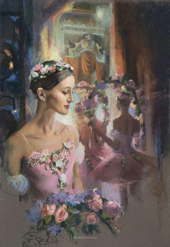 她的色粉芭蕾,舞姿律动,身姿瘦削!插图41
