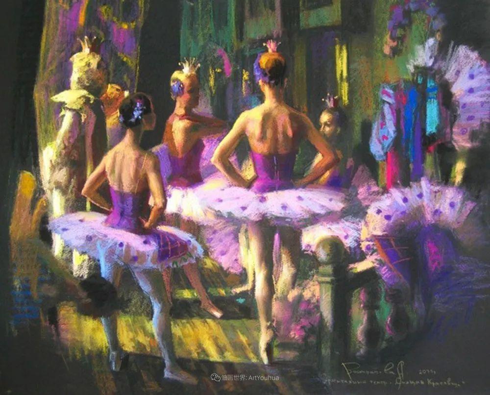 她的色粉芭蕾,舞姿律动,身姿瘦削!插图45