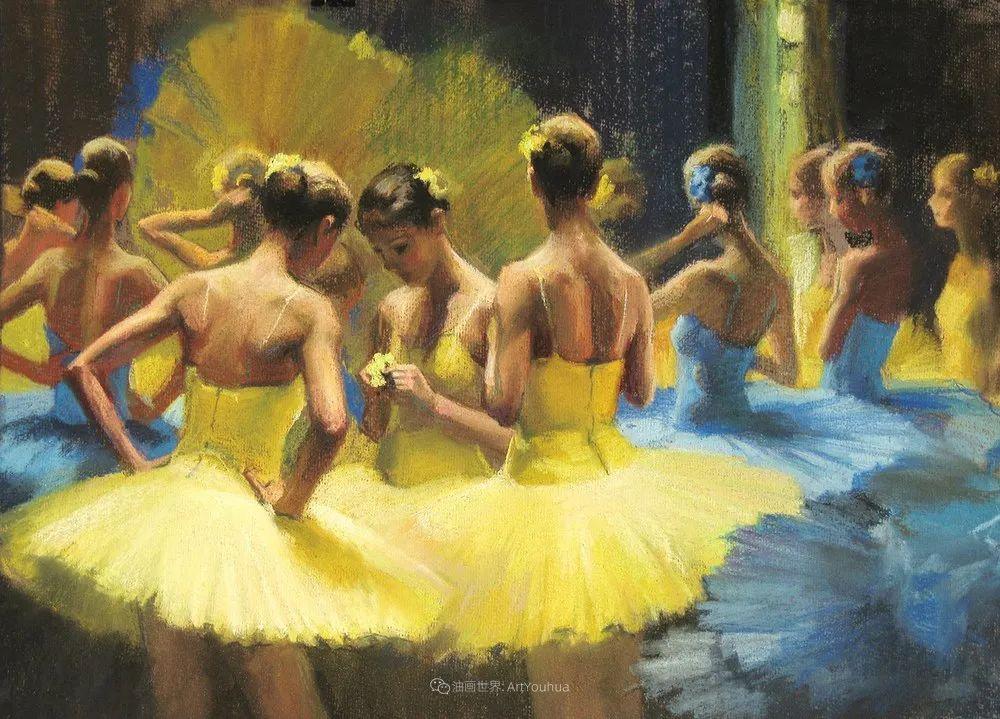 她的色粉芭蕾,舞姿律动,身姿瘦削!插图47