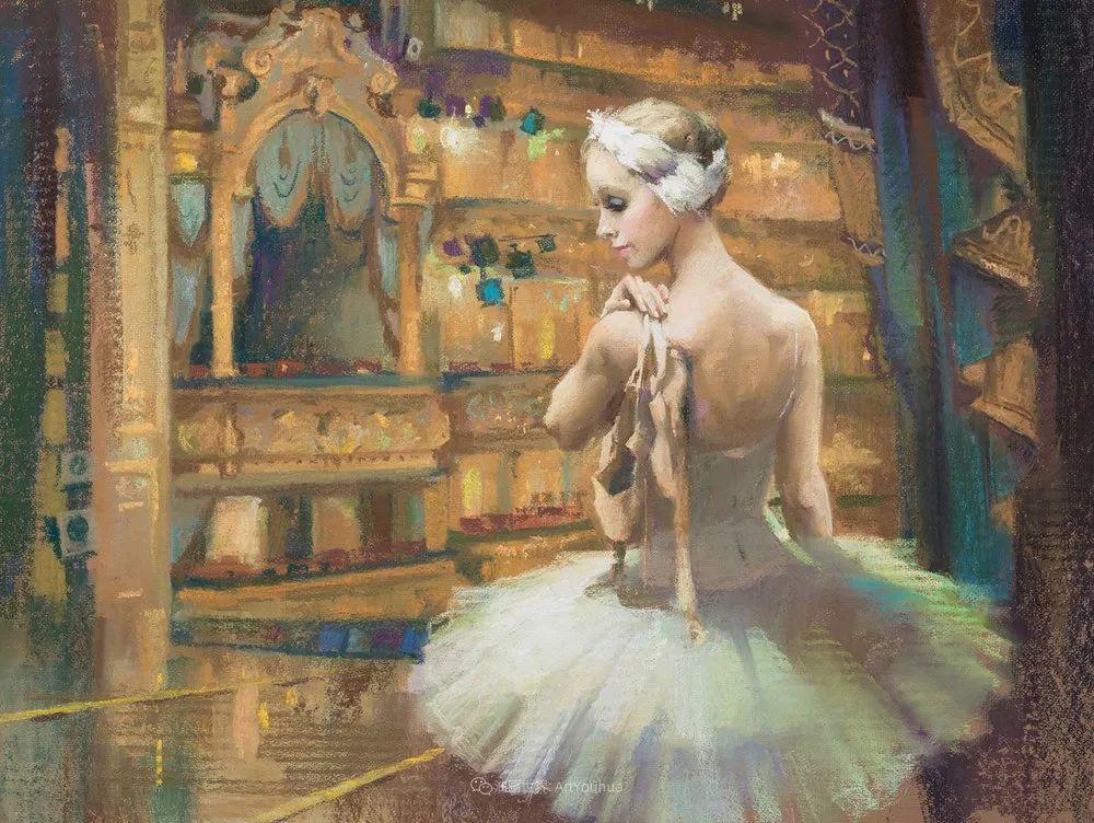 她的色粉芭蕾,舞姿律动,身姿瘦削!插图49