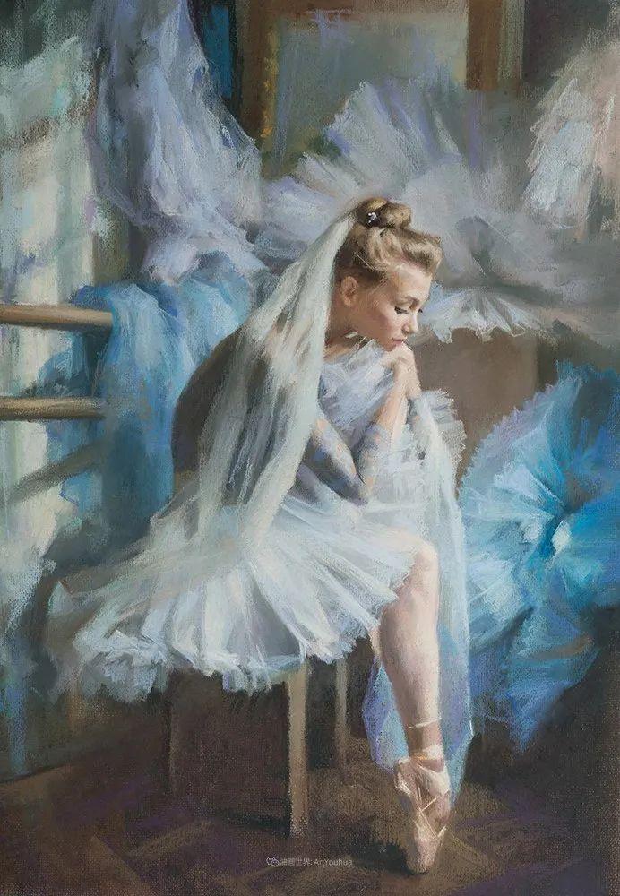 她的色粉芭蕾,舞姿律动,身姿瘦削!插图53