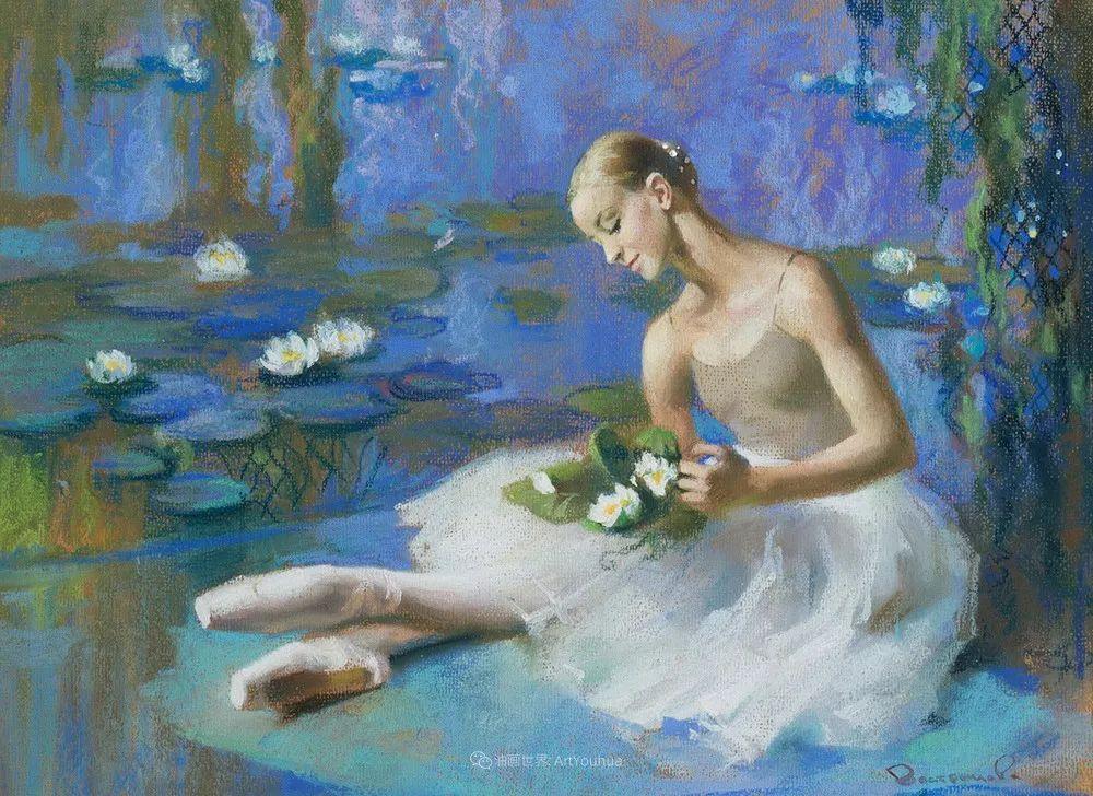 她的色粉芭蕾,舞姿律动,身姿瘦削!插图57