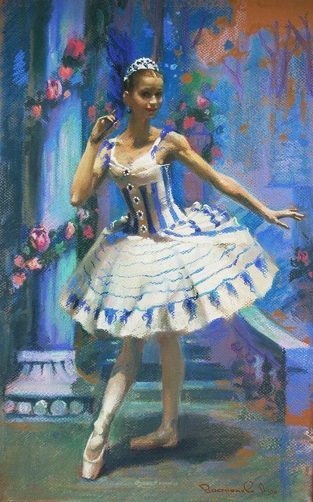 她的色粉芭蕾,舞姿律动,身姿瘦削!插图59