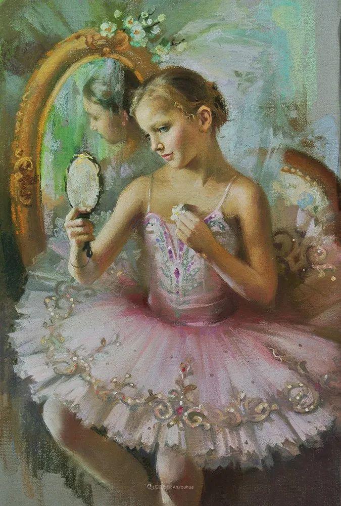 她的色粉芭蕾,舞姿律动,身姿瘦削!插图63