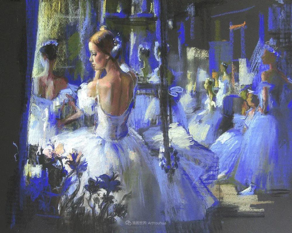 她的色粉芭蕾,舞姿律动,身姿瘦削!插图67