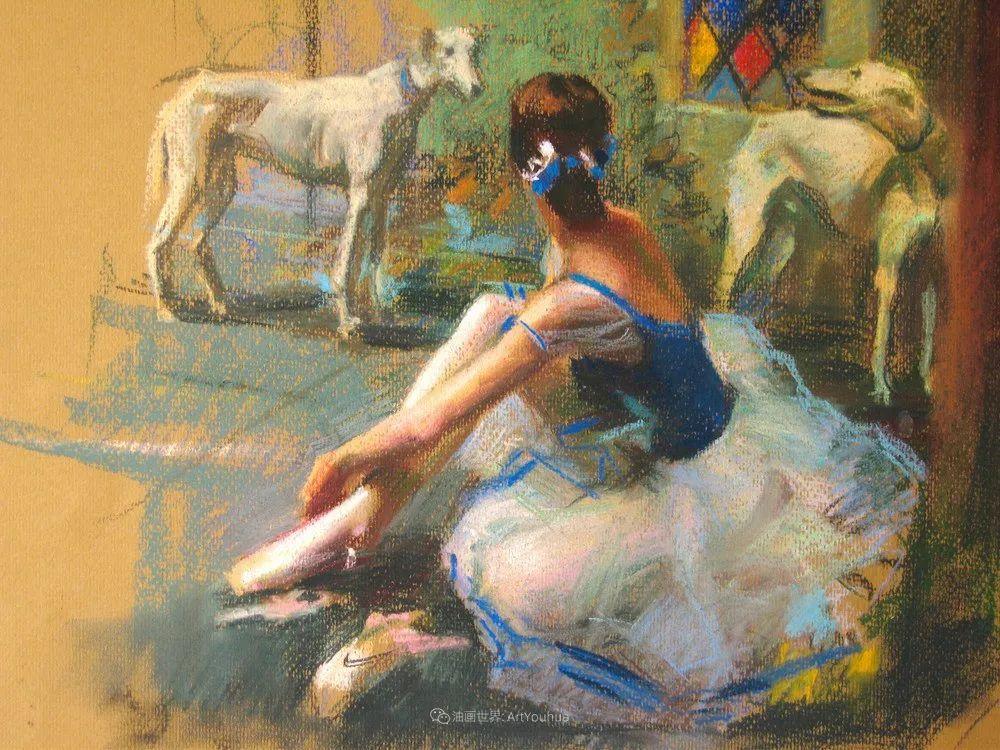 她的色粉芭蕾,舞姿律动,身姿瘦削!插图71