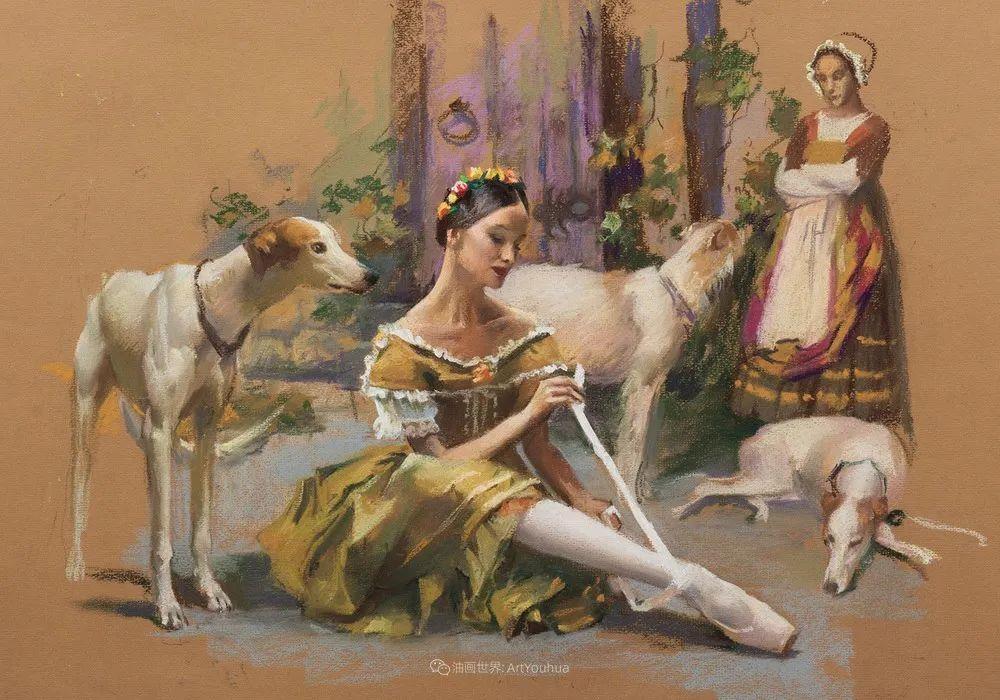 她的色粉芭蕾,舞姿律动,身姿瘦削!插图73