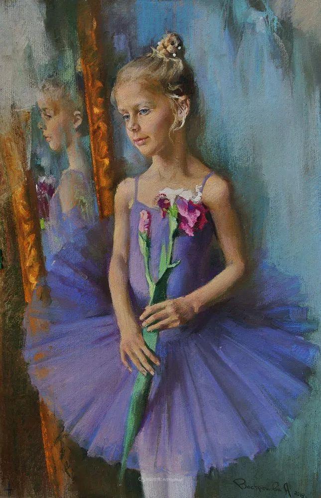 她的色粉芭蕾,舞姿律动,身姿瘦削!插图77