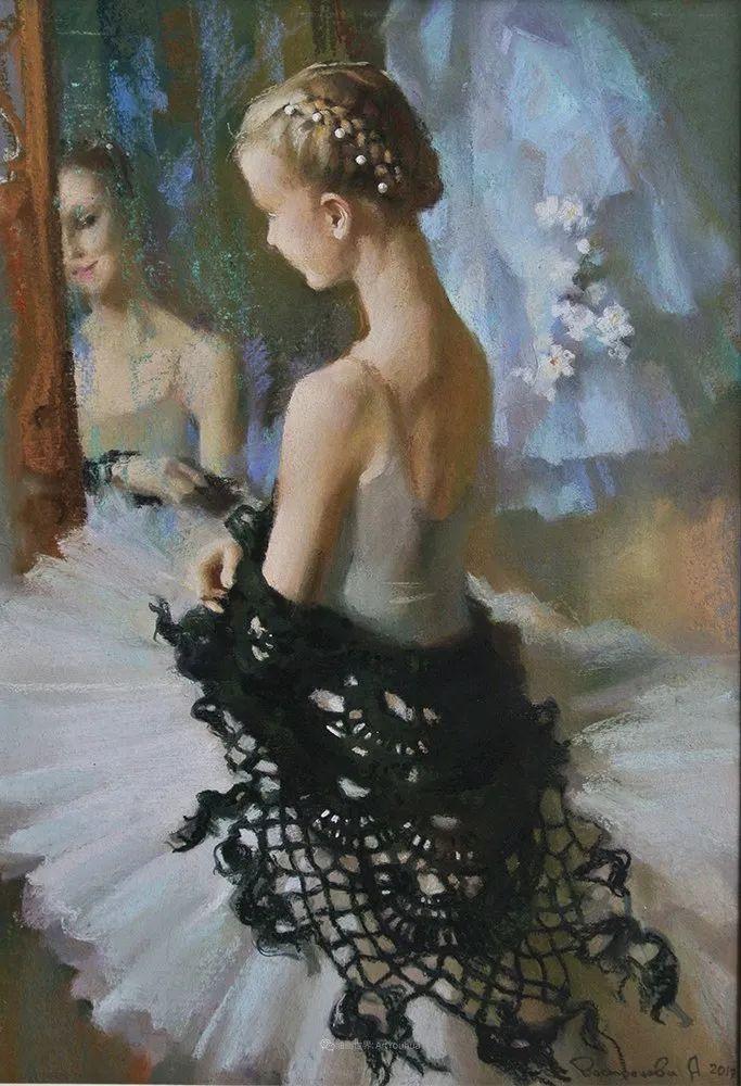 她的色粉芭蕾,舞姿律动,身姿瘦削!插图83