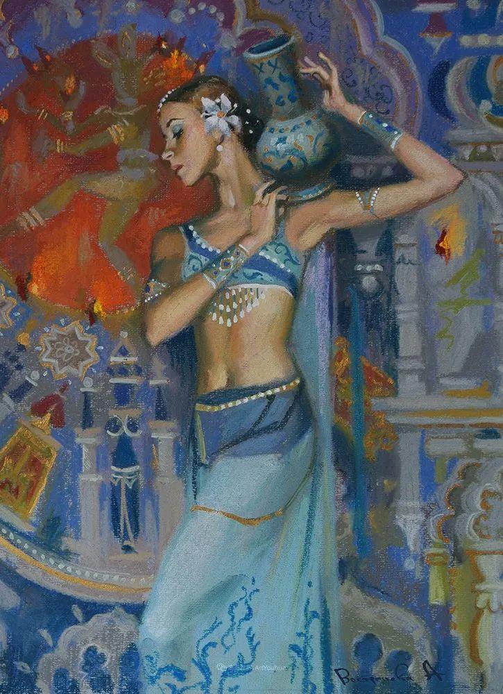 她的色粉芭蕾,舞姿律动,身姿瘦削!插图89