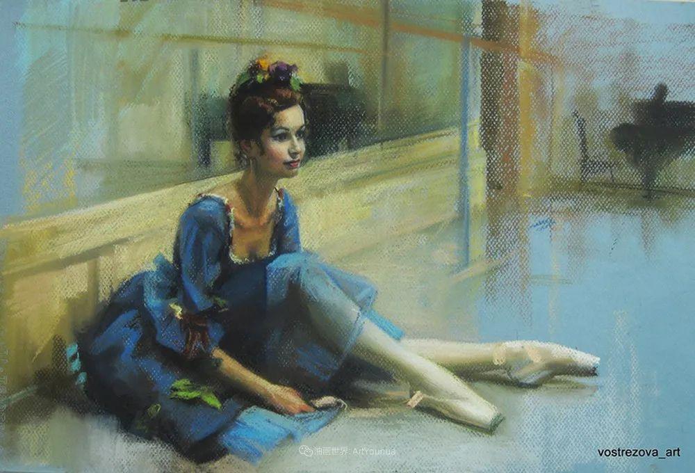 她的色粉芭蕾,舞姿律动,身姿瘦削!插图93