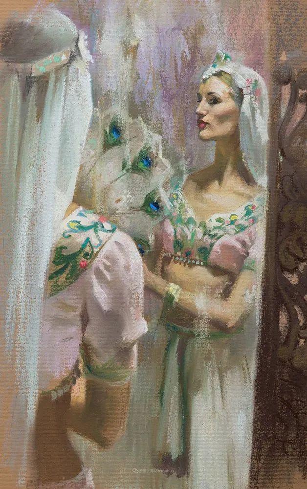 她的色粉芭蕾,舞姿律动,身姿瘦削!插图97